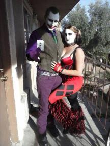 The Millers often fantasized and dressed up like Slenderman, Joker (Jared) and Harley Quinn (Amanda)